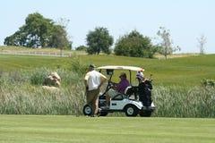 golfare Royaltyfria Foton