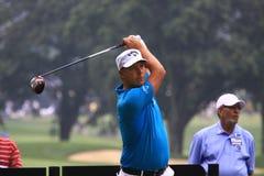 Golfare Fredrik Jacobson av Sverige Royaltyfri Bild