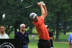 Golfare Justin Rose Royaltyfria Bilder