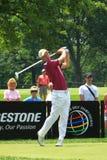 Golfare Marcel Siem av Tyskland Royaltyfri Foto
