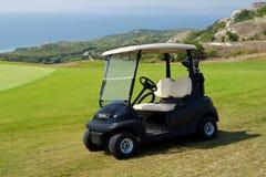 Golfauto stockbild