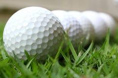 Golfbälle Stockbilder