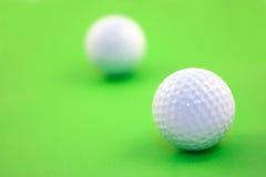 Golfbälle Stockbild
