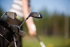 Golfbag Royalty Free Stock Photography