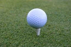 Golfbal 02 stock fotografie