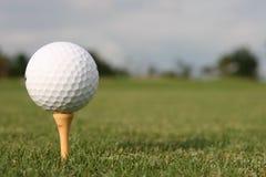 Golfbal. royalty-vrije stock afbeelding