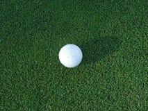 Golfbal royalty-vrije stock foto's