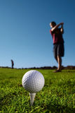 Golfbal Stock Fotografie