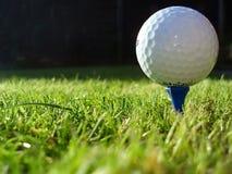 Golfbal Royalty-vrije Stock Afbeelding