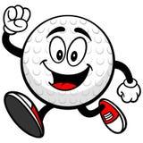 Golfbal het Lopen vector illustratie