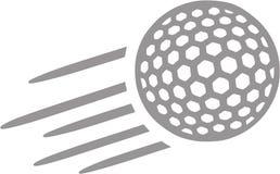 Golfbal het Vliegen vector illustratie