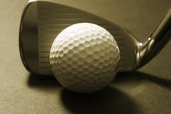 Golfball Stockbild