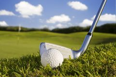 Golfball Royalty Free Stock Photos