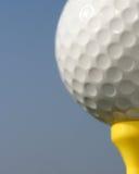 Golfball close-up Stock Image