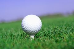 Free Golfball In Green Grass Stock Photos - 9829023