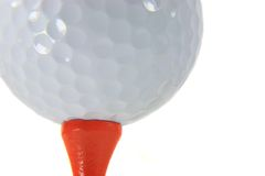 Golfball-Makro Lizenzfreies Stockfoto