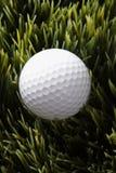 Golfball na grama. Imagem de Stock Royalty Free