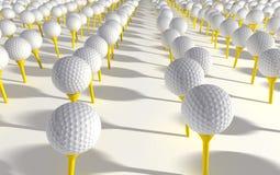 Golfball-Plantage Lizenzfreies Stockfoto