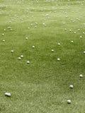 Golfballen Stock Foto's