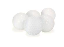 Golfballen Stock Afbeelding