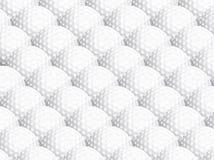 Golfballhintergrund stock abbildung
