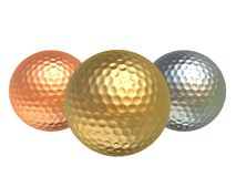 Golfballs Royalty Free Stock Image