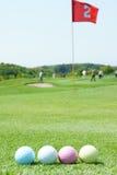 Golfballs Immagini Stock Libere da Diritti