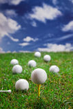 Golfballs! Royalty Free Stock Photos