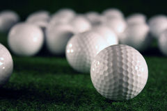 Golfballs Royalty Free Stock Images