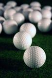 Golfballs stockbild