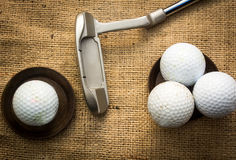 Golfballs Fotografia Stock