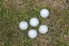 Golfballs Stock Photo