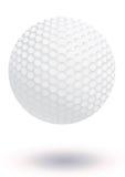 Golfballvektorabbildung Lizenzfreies Stockbild