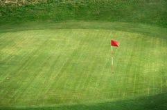Golfbana Royaltyfria Foton