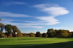 Golfbana Arkivbilder