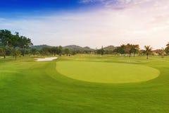 Golfbana Royaltyfri Fotografi