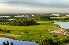 Golfbana i Orlando - USA Arkivfoto