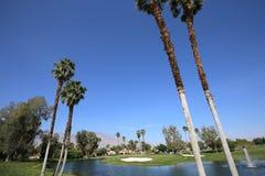Golfbana på turneringen 2015 för ANA inspirationgolf Royaltyfria Foton