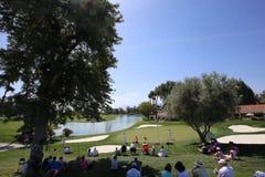 Golfbana på turneringen 2015 för ANA inspirationgolf Arkivfoto