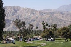 Golfbana på turneringen 2015 för ANA inspirationgolf royaltyfri foto