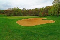 Golfbanabunker Arkivbilder