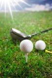 Golfbegrepp! Royaltyfria Bilder