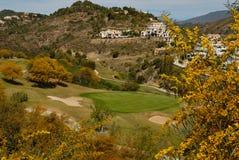 golfberg Royaltyfri Fotografi