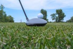 Golfbestuurder stock afbeelding