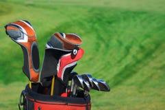 Golfbeutel stockbilder