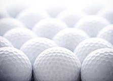 Golfbälle Stockfoto