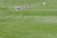 Golfbälle Stockfotografie