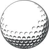Golfboll royaltyfri illustrationer