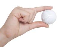 Golfboll Royaltyfri Fotografi
