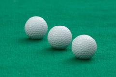 Golfbollar Fotografering för Bildbyråer